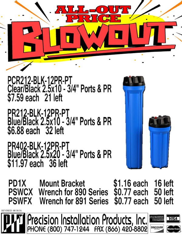 Blowout-PT-Housings