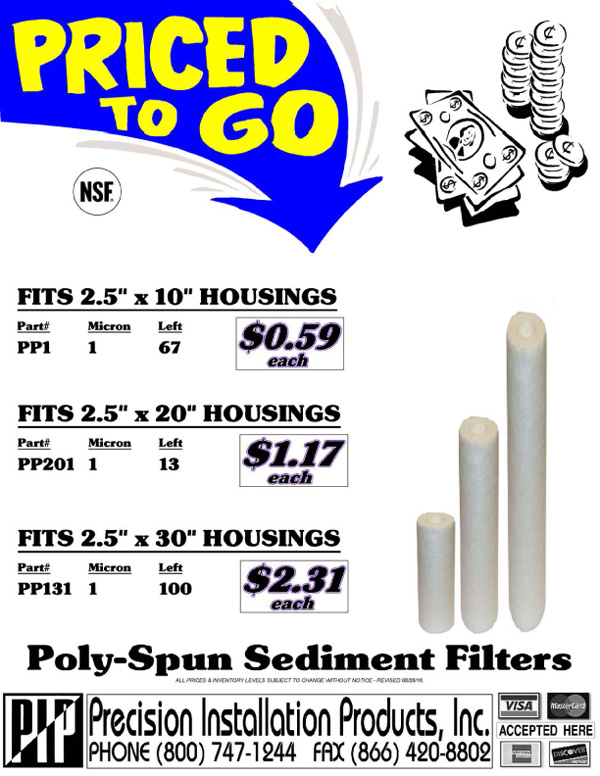 Blowout-PT-Sediment-Filters