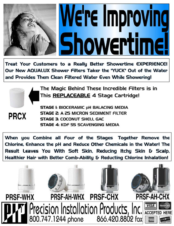 Shower-Filters